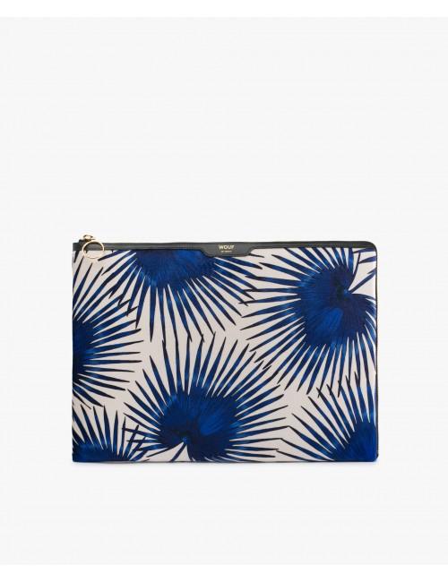 Pochette macbook 13 pouces velours Wouf