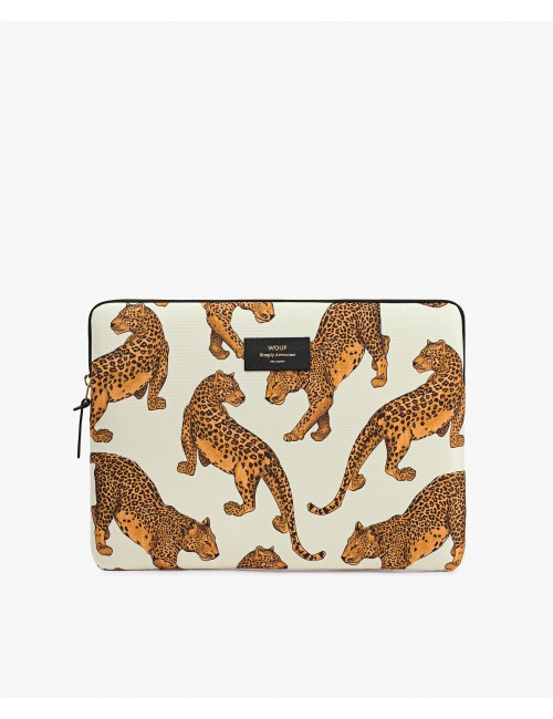 POCH MACBOOK 13 LEOPARD