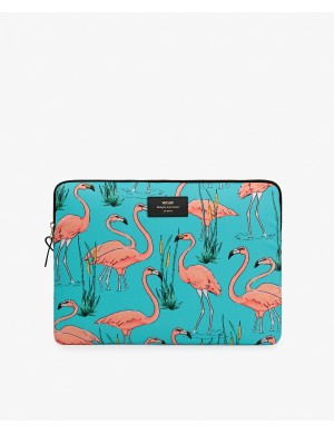 POCH MACBOOK 13 PINK FLAMINGOS