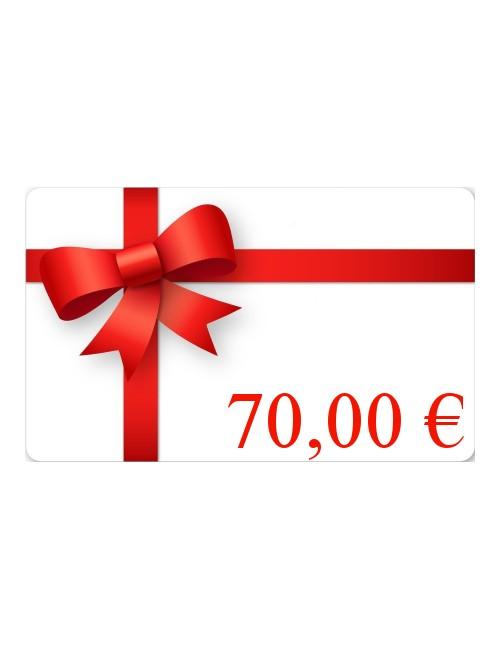Carte Cadeau 70€