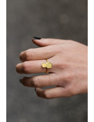 Bague pineapple