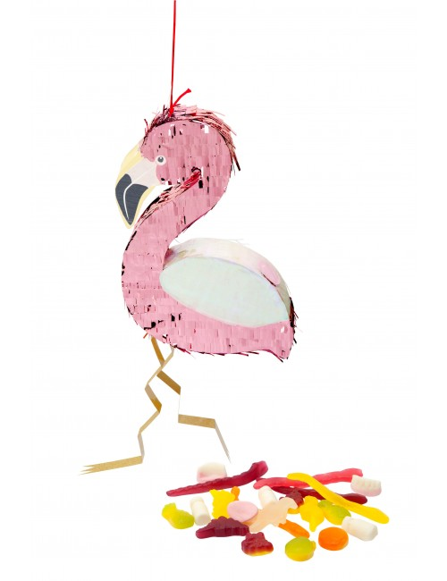 MINI PINATA FLAMINGO