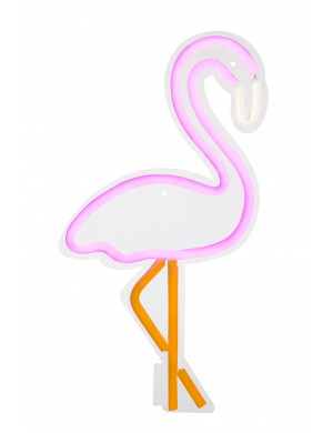 FLAMINGO NEON LED WALL