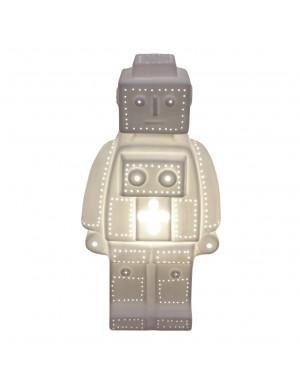 LAMPE CERAMIQUE ROBOT